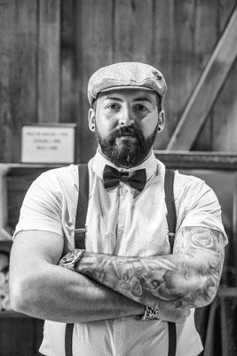 Portrait Barber Dominik Sardella