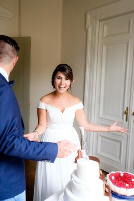 Hochzeitsfotograf bei der Trauung in Heilbronn