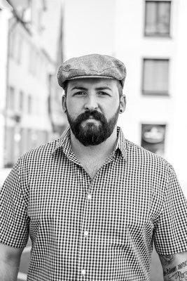 Portrait Barber Domenik Sardella