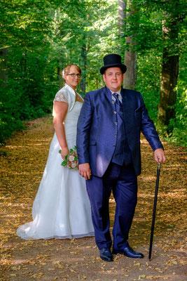 Oppenweiler Wasserschloss Brautpaar
