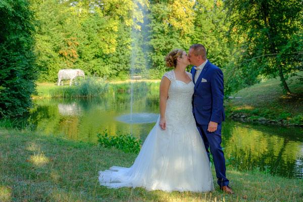Brautpaarfoto Wasserschloss Oppenweiler