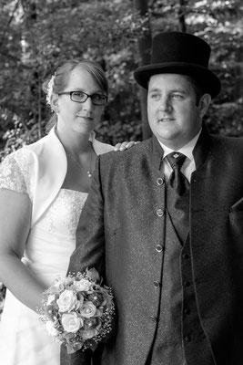 Portrait Hochzeitsbild Fotograf Oppenweiler am Wasserschloss