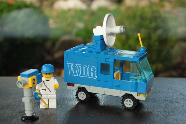 LEGO promotion set WDR van. Rare. 1980's