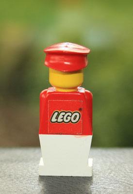 LEGO old style rare promo figure