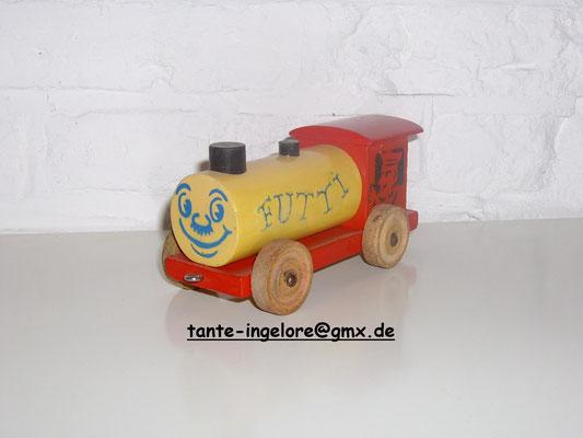 """LEGO wood loco """"Futti"""" 1950's"""