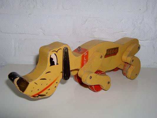 "LEGO wood ""Pluto"" 1950's rare"