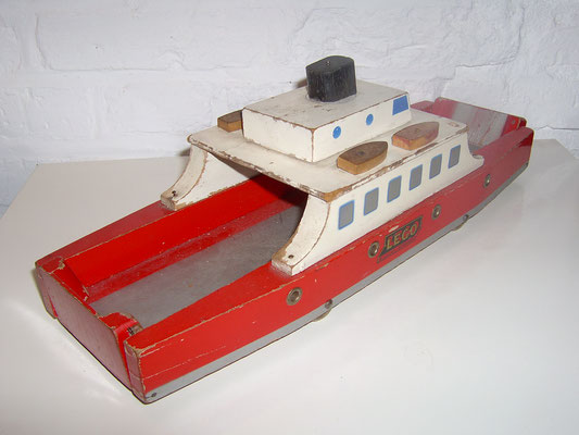 LEGO wood ferry 1950's