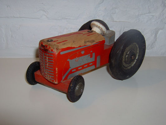 LEGO wood tractor early 1950's
