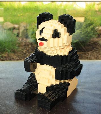 "Panda bear 1970's. Reference: ""50 år i leg"" anniversary edition of 1982."