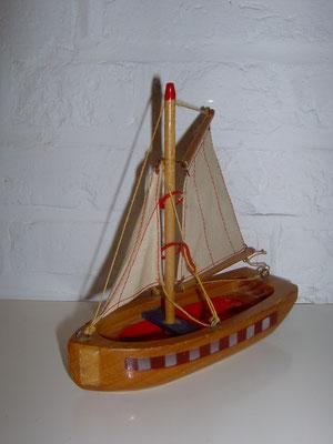 LEGO wood boat 1950's