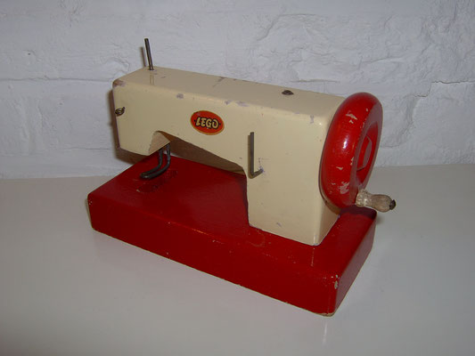 LEGO wood sewing machine 1950's rare