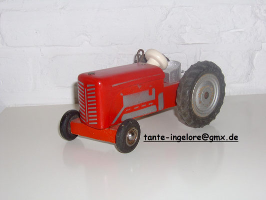 LEGO wood tractor 1950's