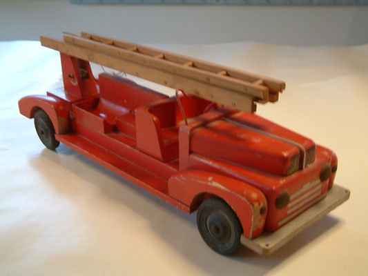 LEGO wood fire truck. 1940's