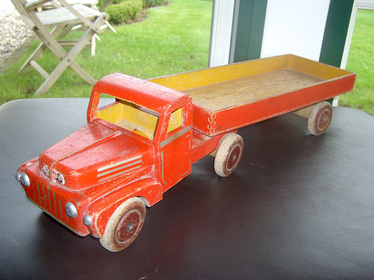 LEGO wood big truck 1950's