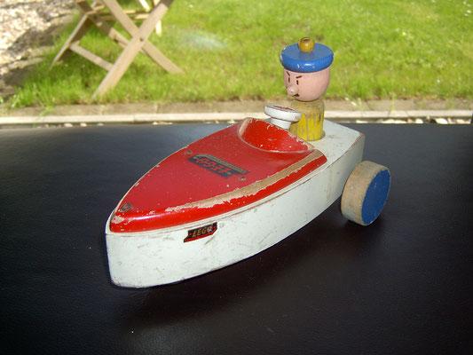 LEGO wood fantasy boat 1950's