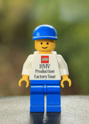 HMV Production. LEGO Production Hojmarks Vej Billund.