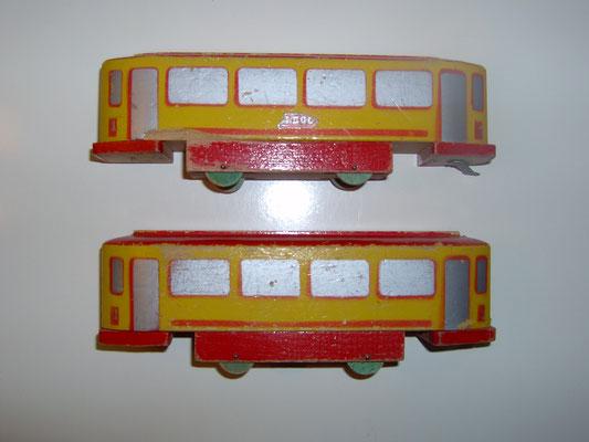 LEGO wood tram 1950's