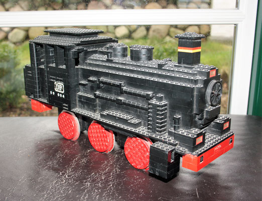 Original locomotive from Legoland Sierksdorf display 1973 - 1976