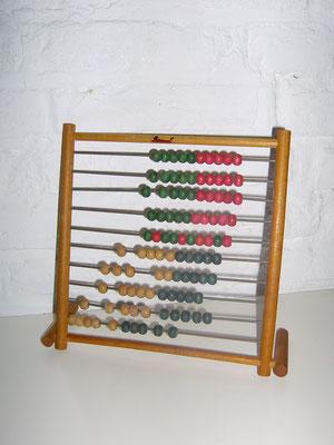 LEGO wood abacus 1950's