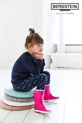 Bergstein pink ist eine beliebte Mädchenfarbe