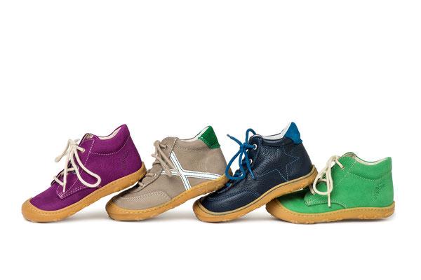 Lauflerner mit weichen, flexiblen Sohlen von Ricosta Pepino, einer tollen Marke für Kinderschuhe
