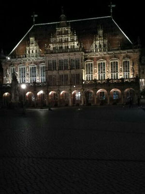 Das alte Bremer Rathaus