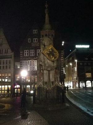 Der Roland, eines der Bremer Wahrzeichen