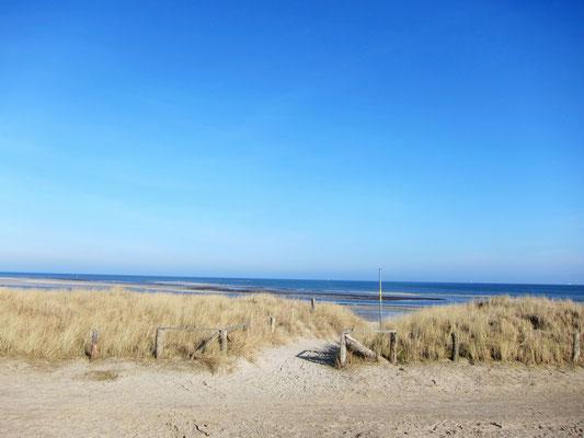Strand Grüner Brink mit Dünen