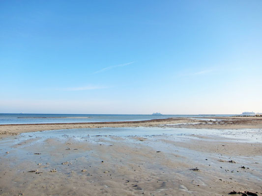 Strand Grüner Brink mit Flachwasser
