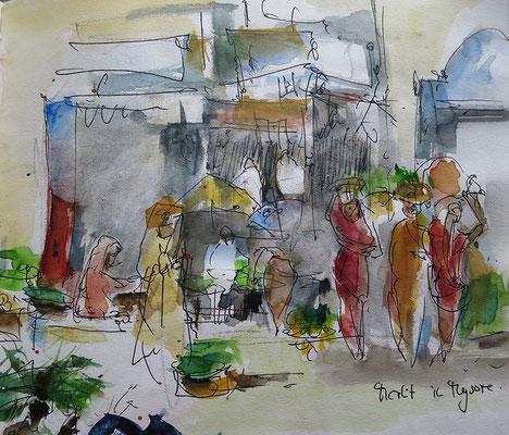 'Markt Mysore'