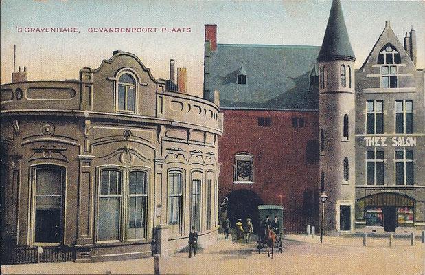 Ansichtkaart Gevangenpoort Den Haag 12