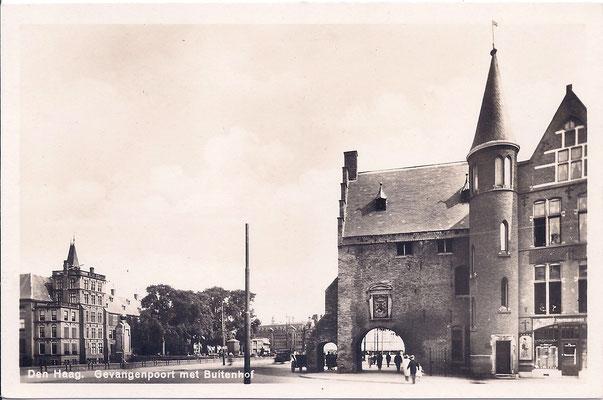 Ansichtkaart Gevangenpoort Den Haag 37