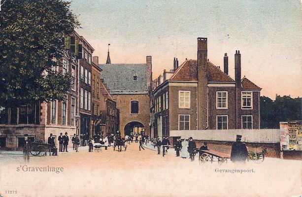 Ansichtkaart Gevangenpoort Den Haag 10