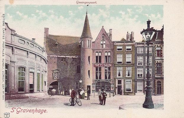 Ansichtkaart Gevangenpoort Den Haag 16