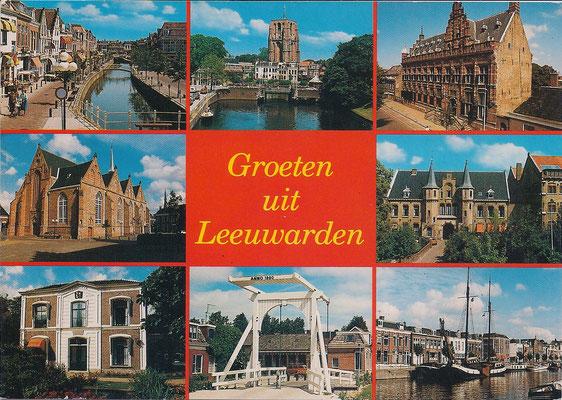 Ansichtkaart-Gevangenis Leeuwarden