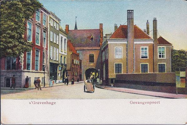 Ansichtkaart Gevangenpoort Den Haag 18