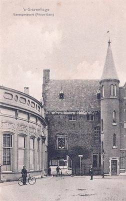 Ansichtkaart Gevangenpoort Den Haag 20