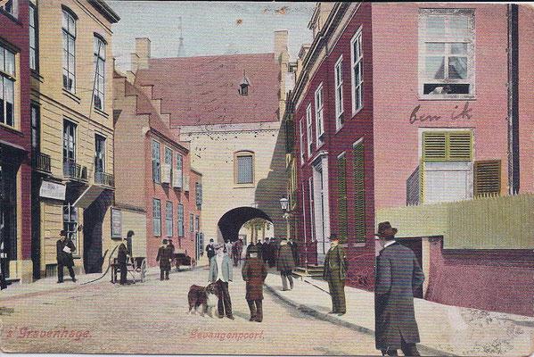 Ansichtkaart Gevangenpoort Den Haag 15