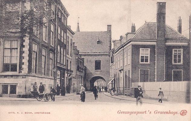 Ansichtkaart Gevangenpoort Den Haag 21