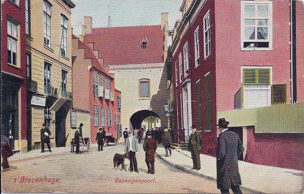 Ansichtkaart Gevangenpoort Den Haag 14