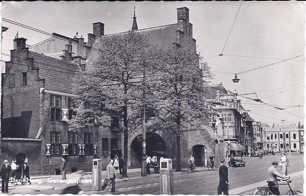 Ansichtkaart Gevangenpoort Den Haag 39