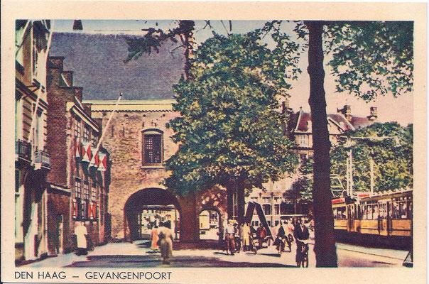 Ansichtkaart Gevangenpoort Den Haag 41