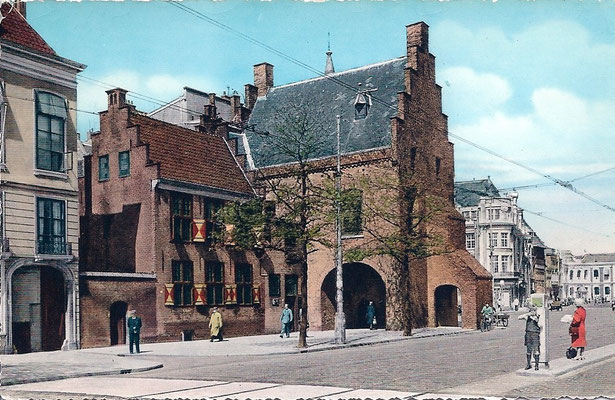 Ansichtkaart Gevangenpoort Den Haag 40