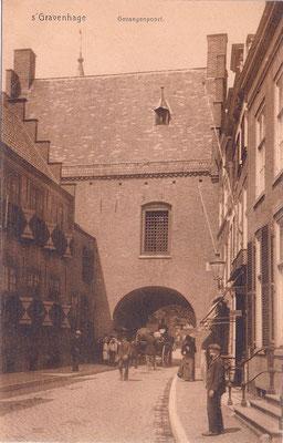 Ansichtkaart Gevangenpoort Den Haag 33