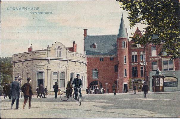 Ansichtkaart Gevangenpoort Den Haag 17