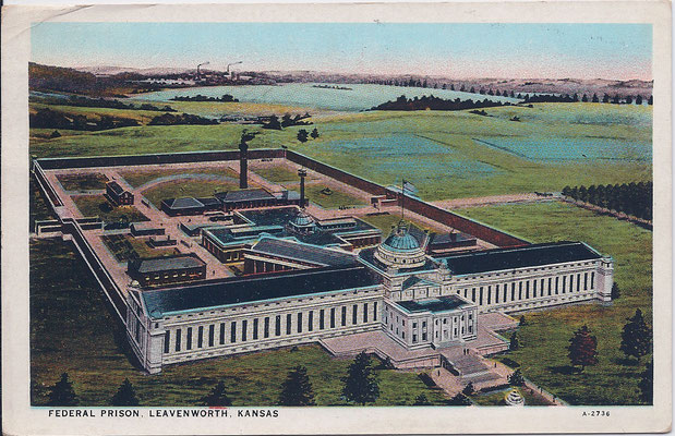 Ansichtkaart Gevangenis Amerika