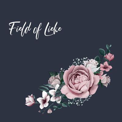 bloemen op bruidsjasje