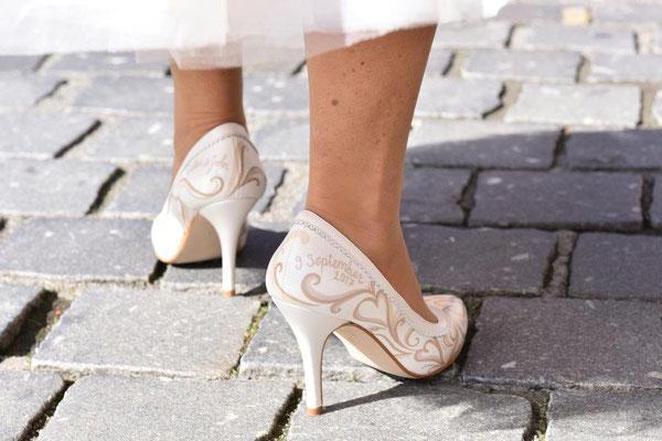 pumps voor bruid