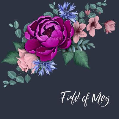 paars roze roos