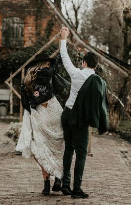 dynamische foto aim your wedding jasje
